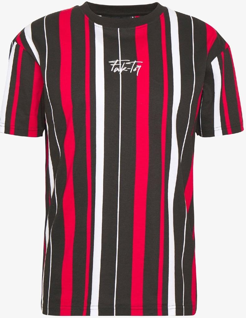 ZLMT100011M Kolorowy T-shirt Fak-Tor M