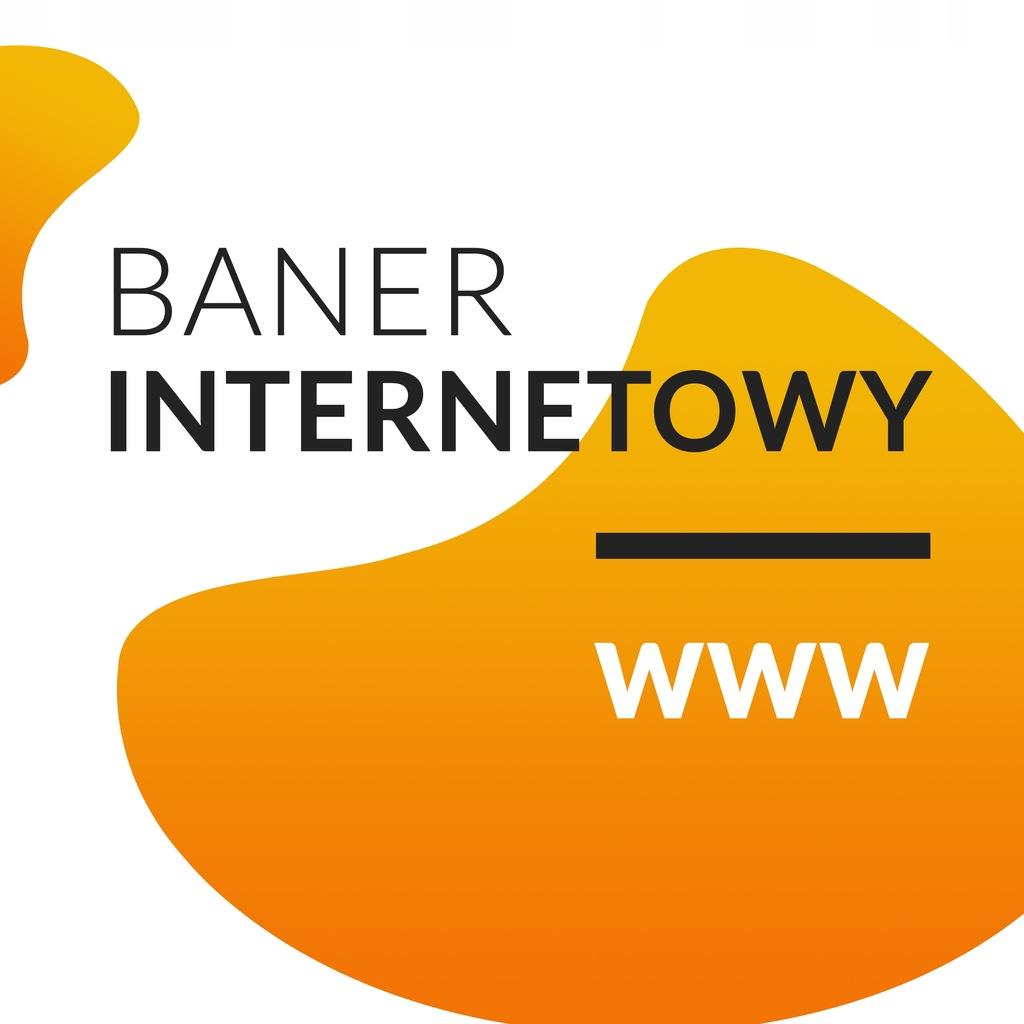Banery graficzne do Internetu - projektowanie / fv