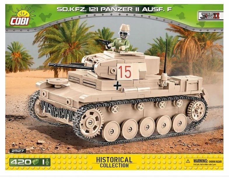 Cobi Klocki Klocki 420 elementów Sd.Kfz.121 Panzer