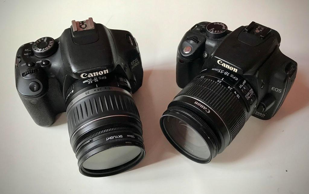 Canon EOS 600D, EOS 350D + TELEZOOM !