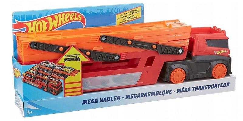 Hot Wheels Ciężarówka Mega Transporter 50 rocznica