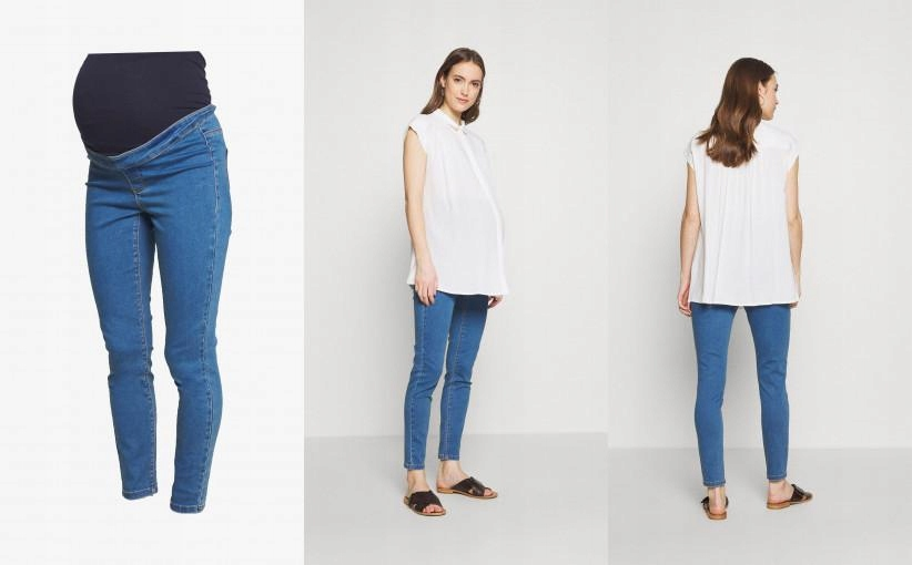 A10C001 JEANSY SKINNY MISSGUIDED MATERNITY 40