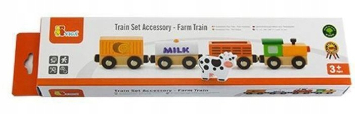 Pociąg magnetyczny farmerski V50821 kolejka magnes