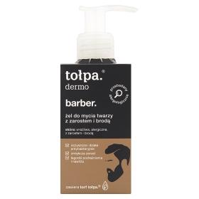 tołpa dermo barber Żel do mycia twarzy z zarostem