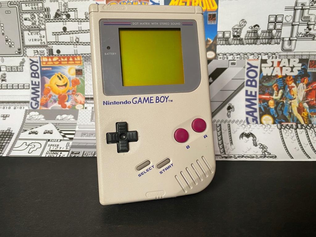 Nintendo Game Boy Klasyk Dmg ORYGINALNA KONSOLA