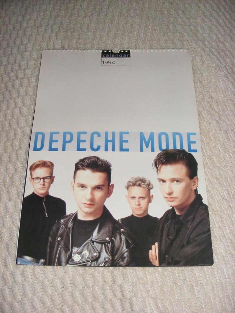 DEPECHE MODE CALENDAR - 1994 orginał