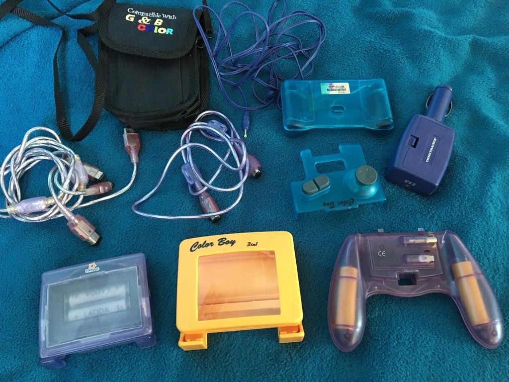 Game Boy Color akcesoria zestaw