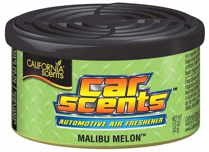 CALIFORNIA CAR SCENTS zapach MELONOWY