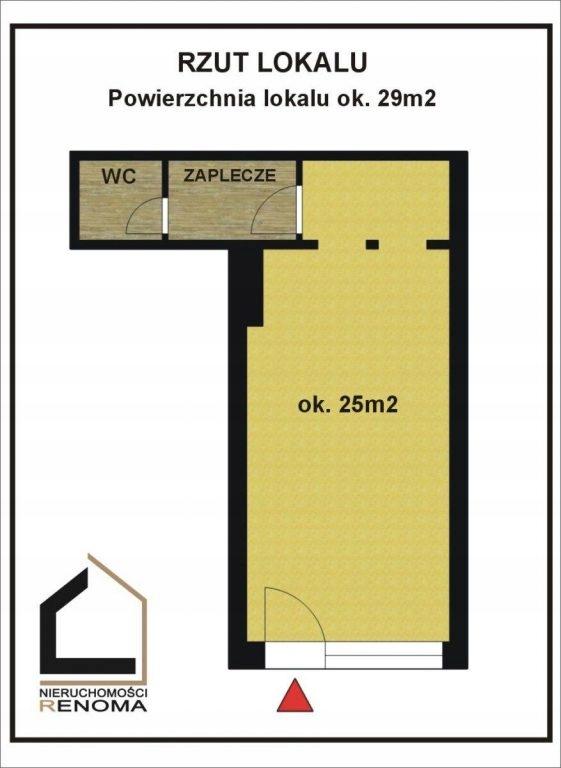Komercyjne, Poznań, Jeżyce, 30 m²