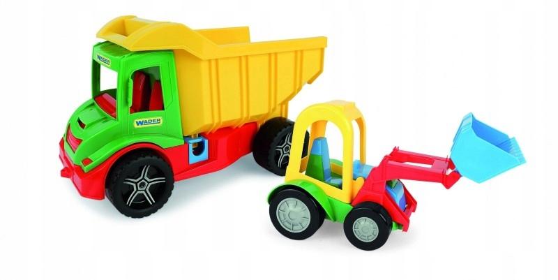 Pojazdy Multi Truck Wywrotka ze spychaczem buggy