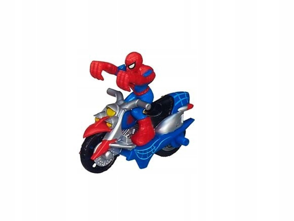 Spiderman tor samochodowy motocykl figurka bajka