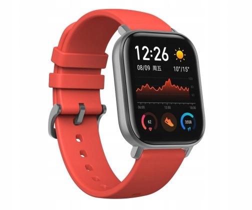 ZEGAREK Smartwatch Xiaomi Amazfit GTS Pomarańczowy