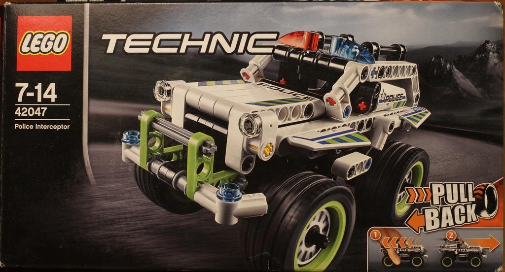 LEGO Technic 42047 Police Interceptor
