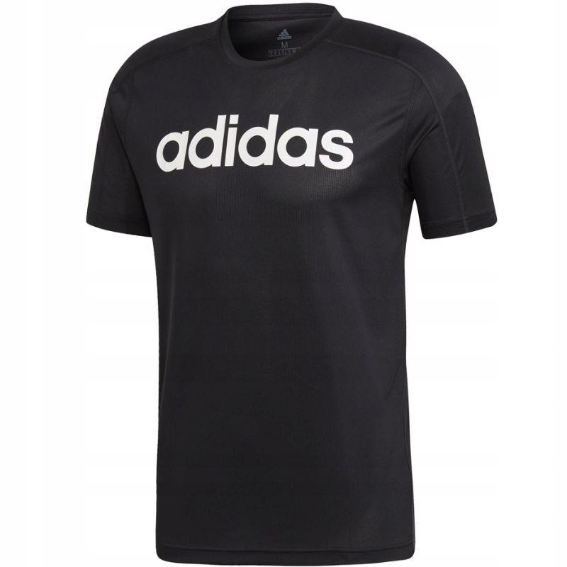 Koszulka adidas D2M Climacool Logo Tee M DU1246 M