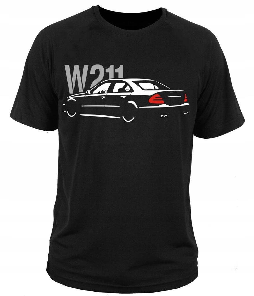 koszulka t-shirt merc benz W211 KLASA E L