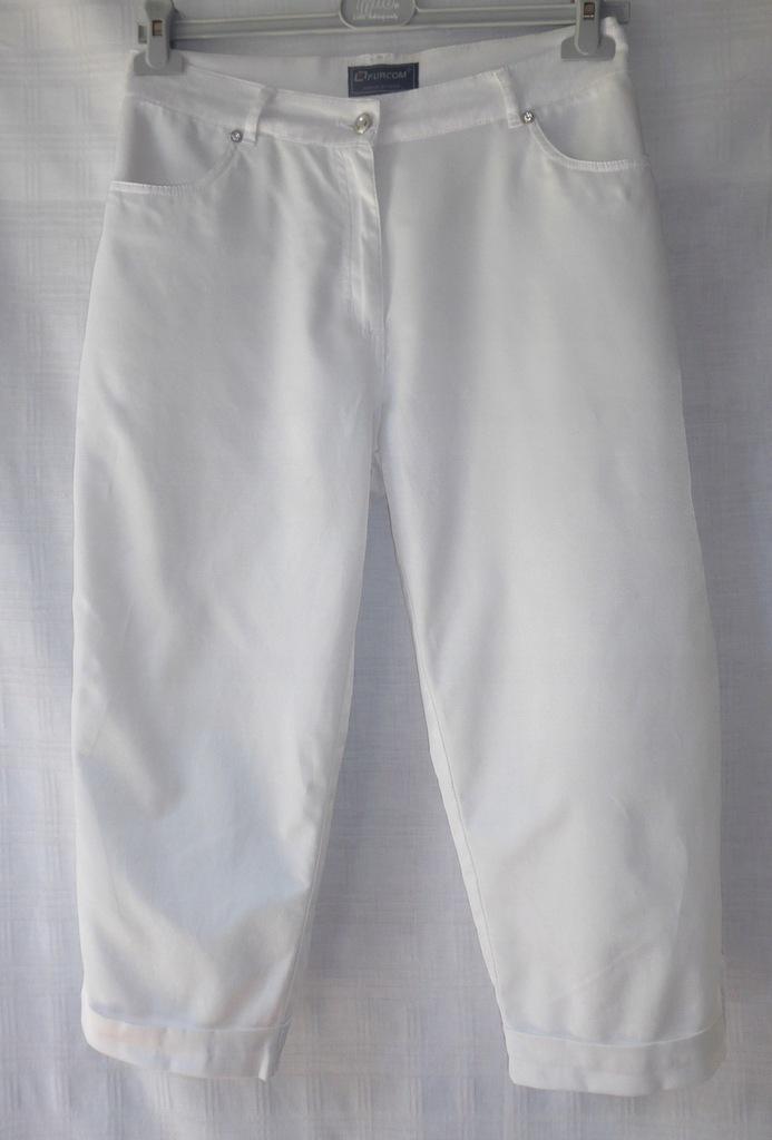 Spodnie białe FC FURCOM rozm. 48