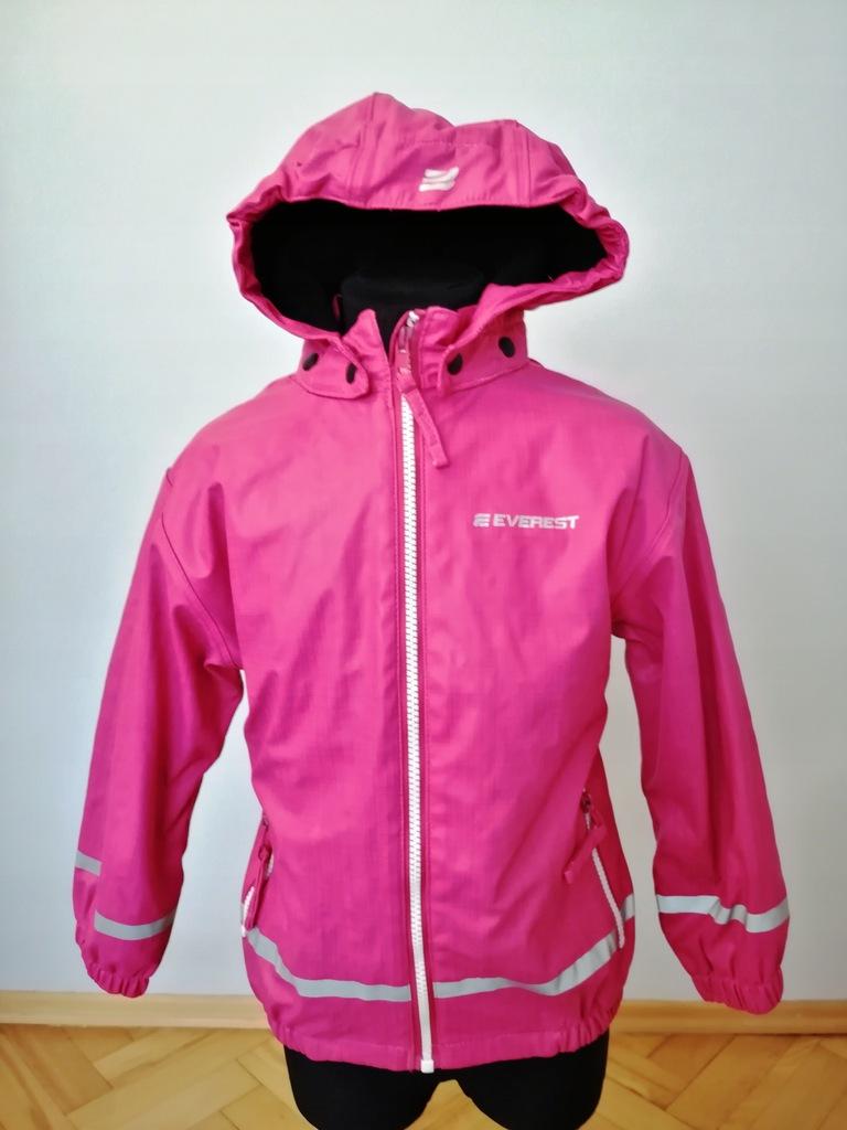 Everest kurtka przeciwdeszczowa na polarze 110/116
