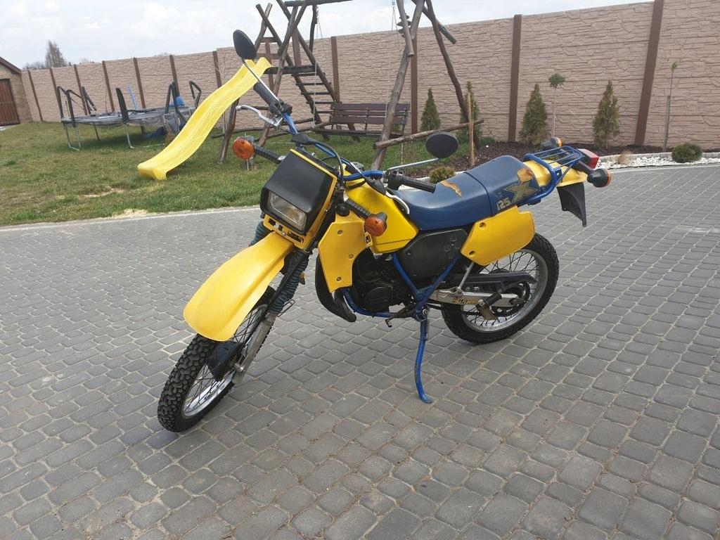 Cross 125 Yamaha Suzuki Kawasaki Honda 7953145565 Oficjalne Archiwum Allegro