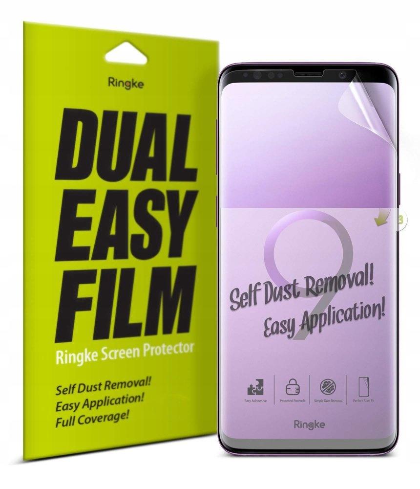 Ringke Dual 2x folia Samsung Galaxy S9 Plus