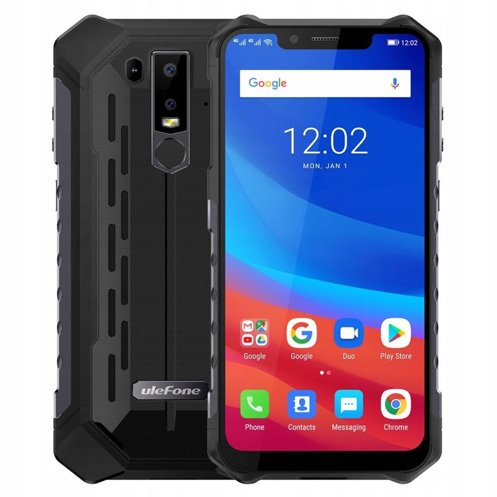 Ulefone Armor 6 6/128GB IP68/69K 6,2'' LTE NFC Bla