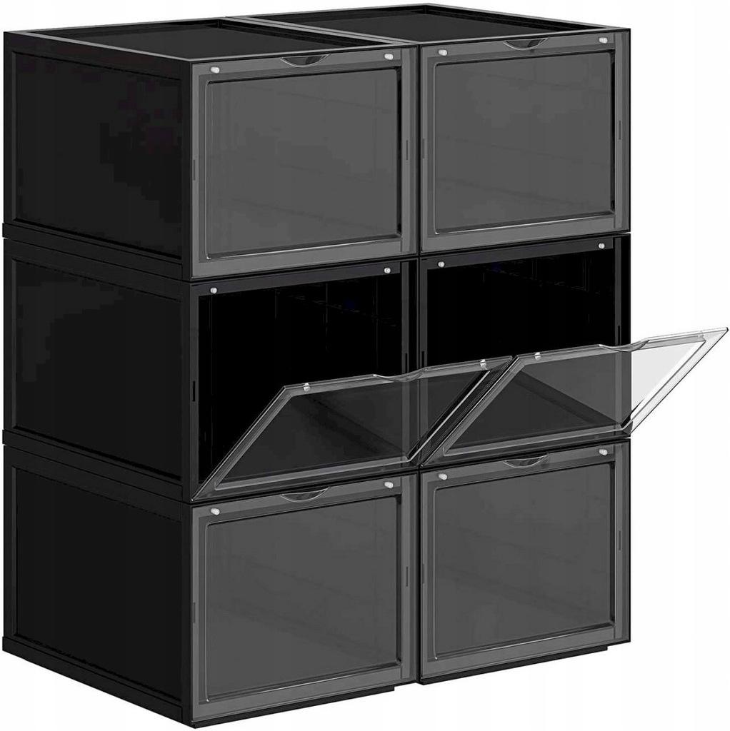 Shoe Box, Stackable Shoe Organiser, Plastic Shoe S