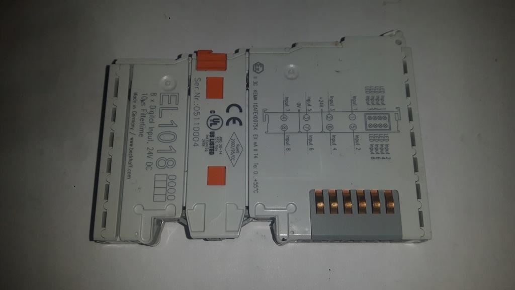 Beckhoff EL1018 8x Digital Input used