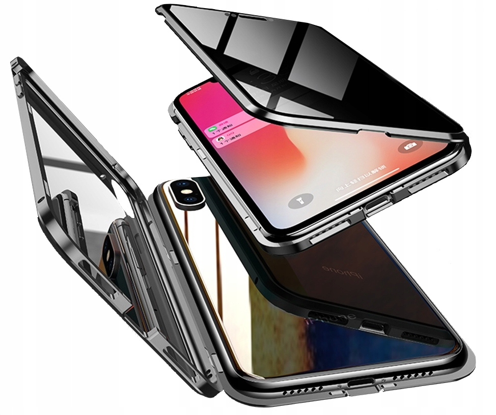 ETUI 360° MAGNETIC DO SAMSUNG NOTE 8 DUAL GLASS