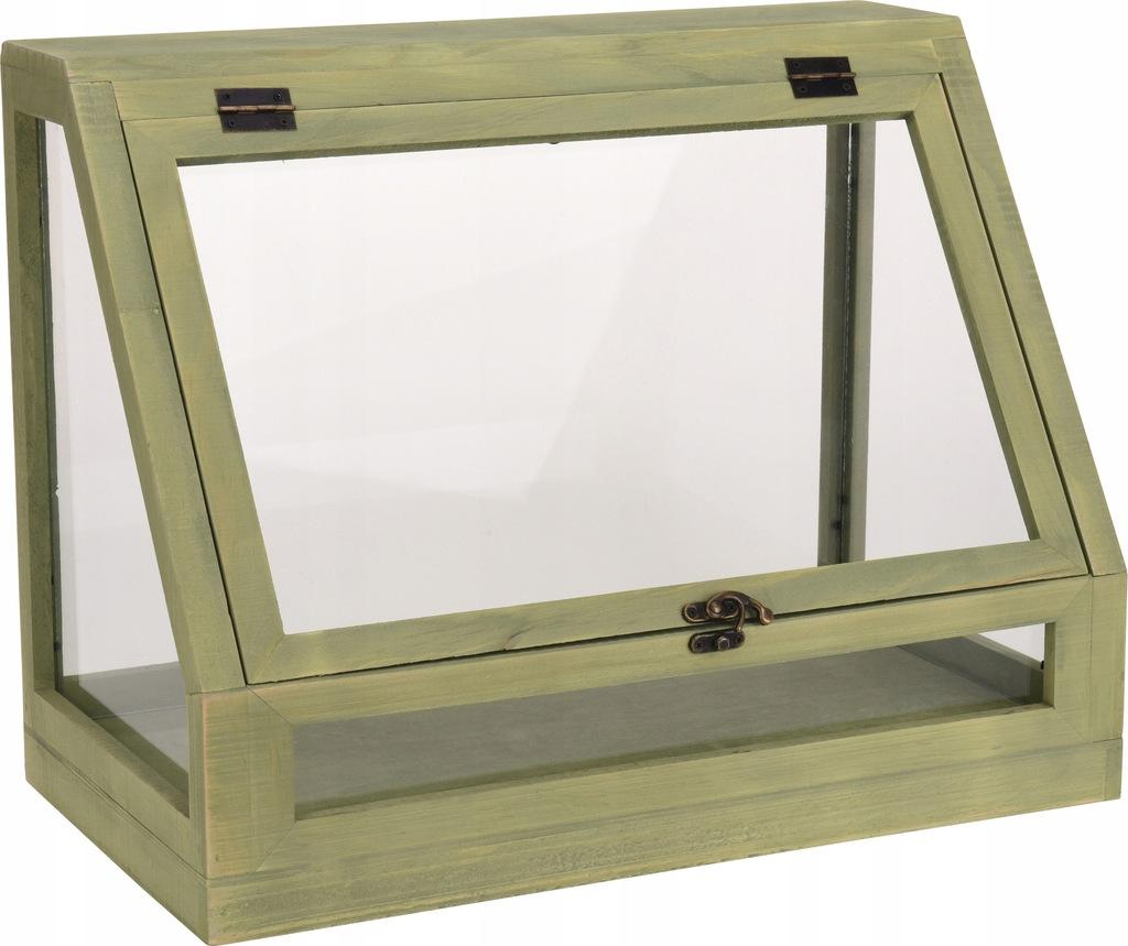 Drewniana Szklarnia Domowa Mini Terrarium 7914913205 Oficjalne Archiwum Allegro