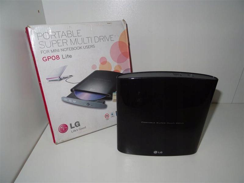LG GP08NU6B (Slim, USB, Czarny) Hit!