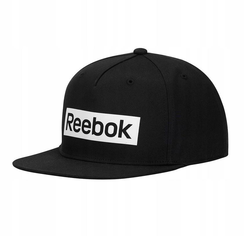 Czapka Reebok Linear Logo Cap OSFM Snapback Czarna