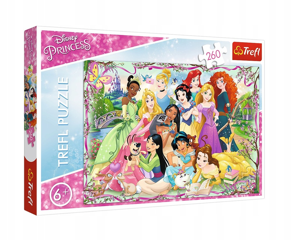 Puzzle 260el. Princess TREFL 13242