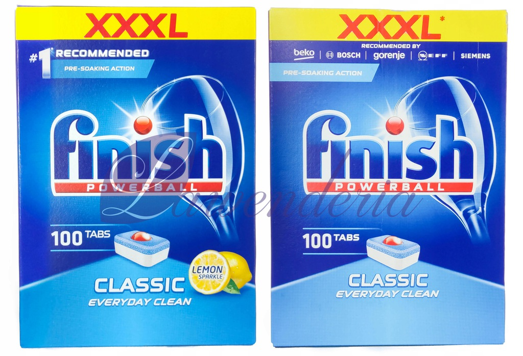Finish Tabletki Classic Lemon + Regular 200szt