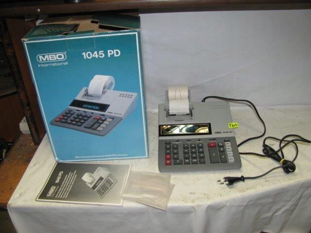 KALKULATOR Z DRUKARKĄ MBO 1045 PD - NR T703