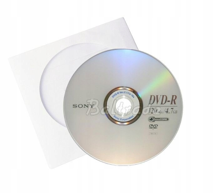 PŁYTA DVD-R 4,7GB 16X SONY RECORDING MEDIA 1SZTUKA