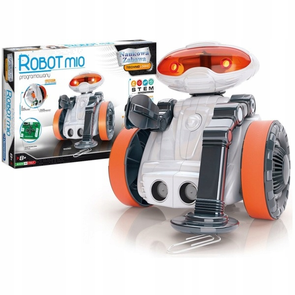 PROGRAMOWANY ROBOT MIO 2.0 CLEMENTONI 60477