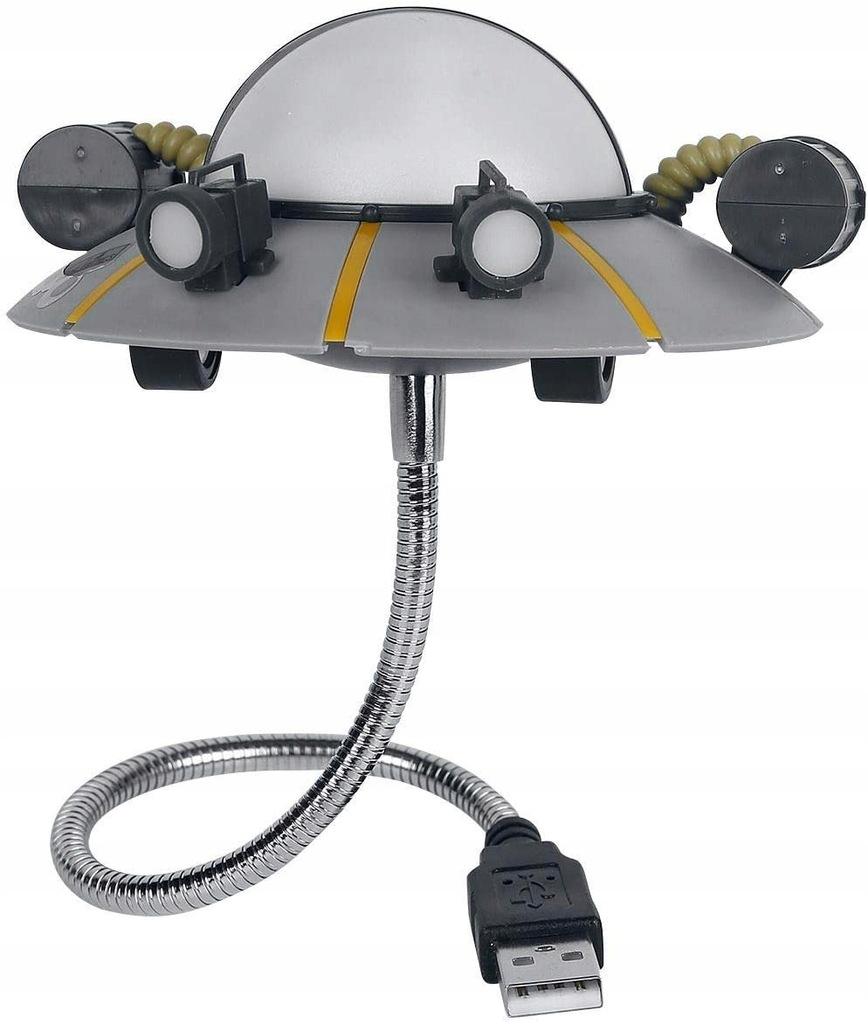 Lampka USB statek kosmiczny ufo Rick & Morty