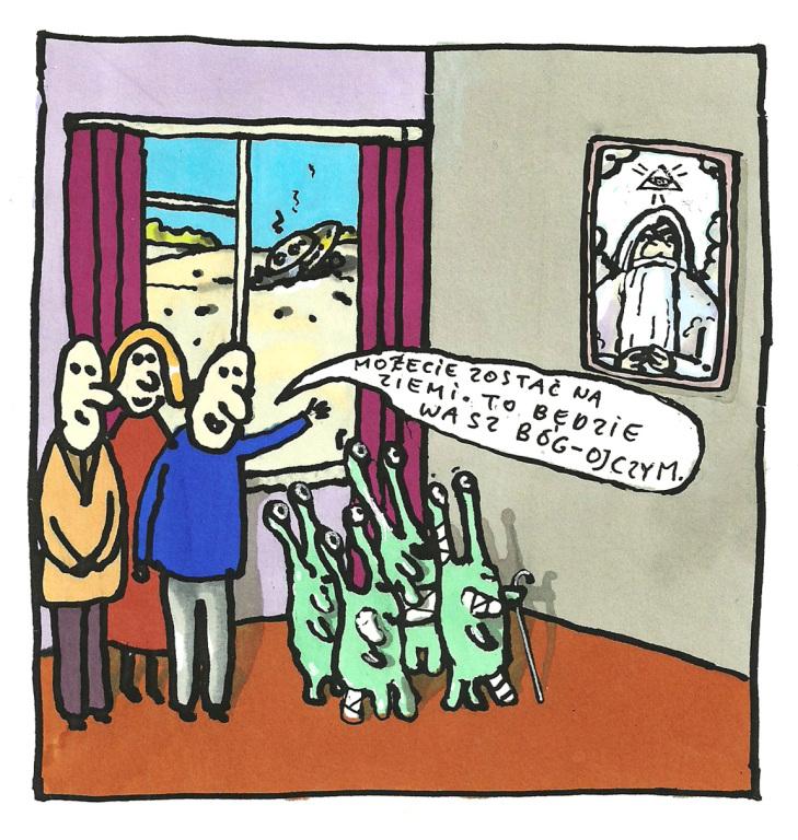 Rysunek Marka Raczkowskiego