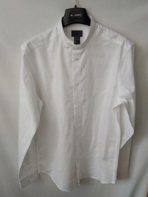 v. Koszula męska na stójce H&M S