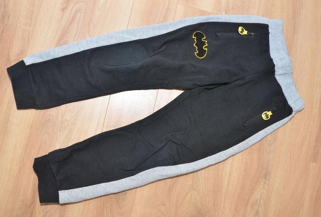Spodnie dresy Batman Cool Club 140cm 8-9lat czarne