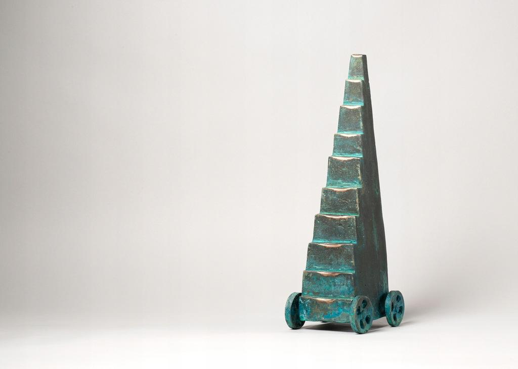 Cien annos de soledad - rzeźba z brązu