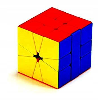 Kolorowa Kostka Rubika Kwadratowa Rozne Wzory Qiyi 8147513653 Oficjalne Archiwum Allegro