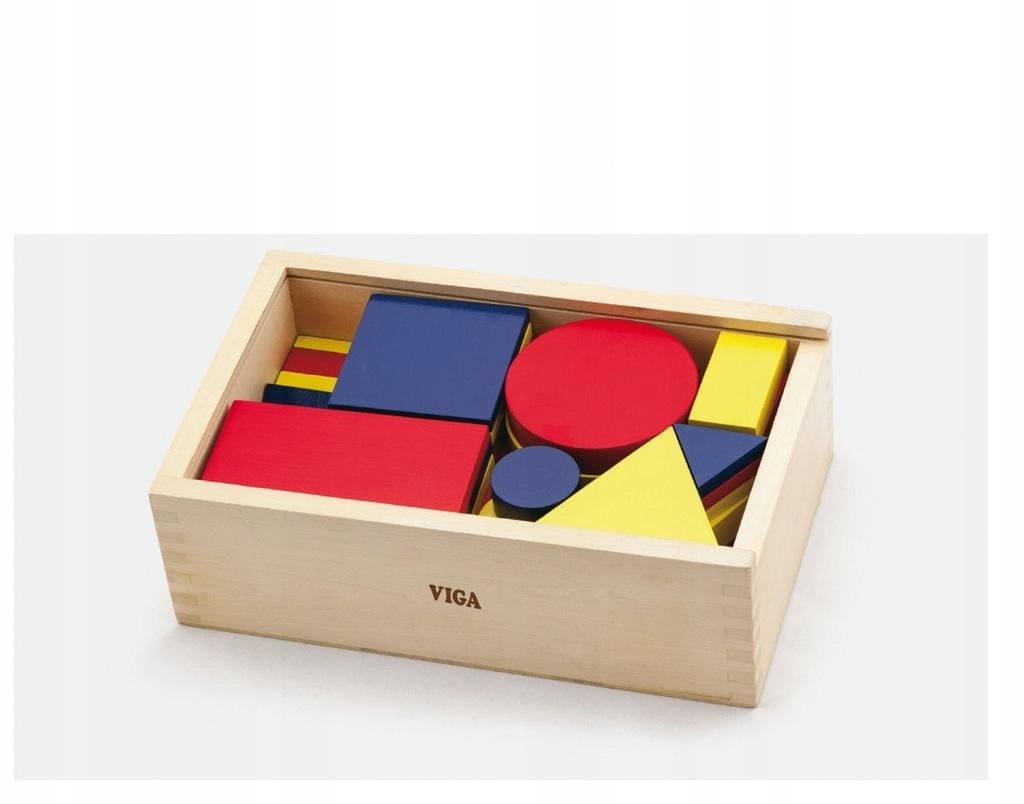 Viga 56164 Klocki logiczne - figury geometryczne