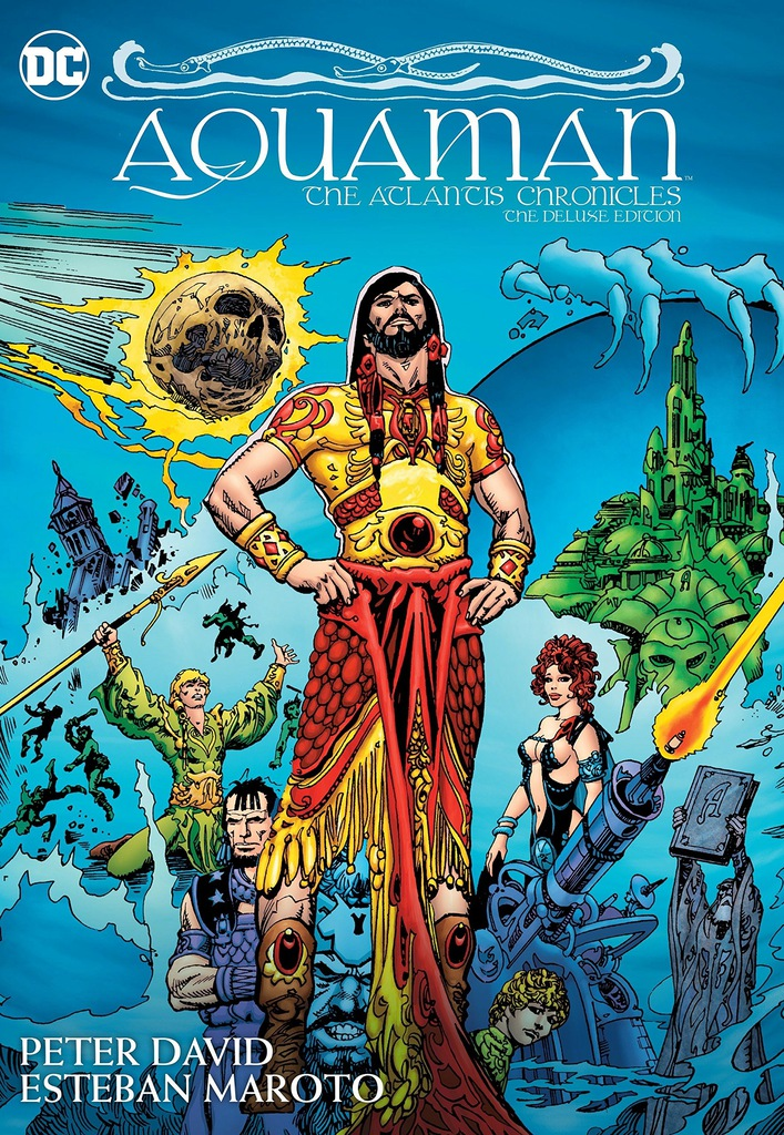 Peter David - Aquaman The Atlantis Chronicles Delu