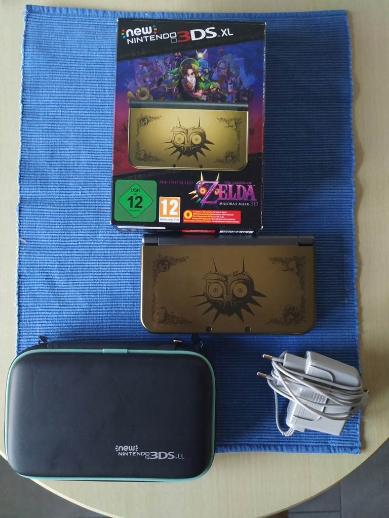 New Nintendo 3DS - Majora's Mask + akcesoria i gry