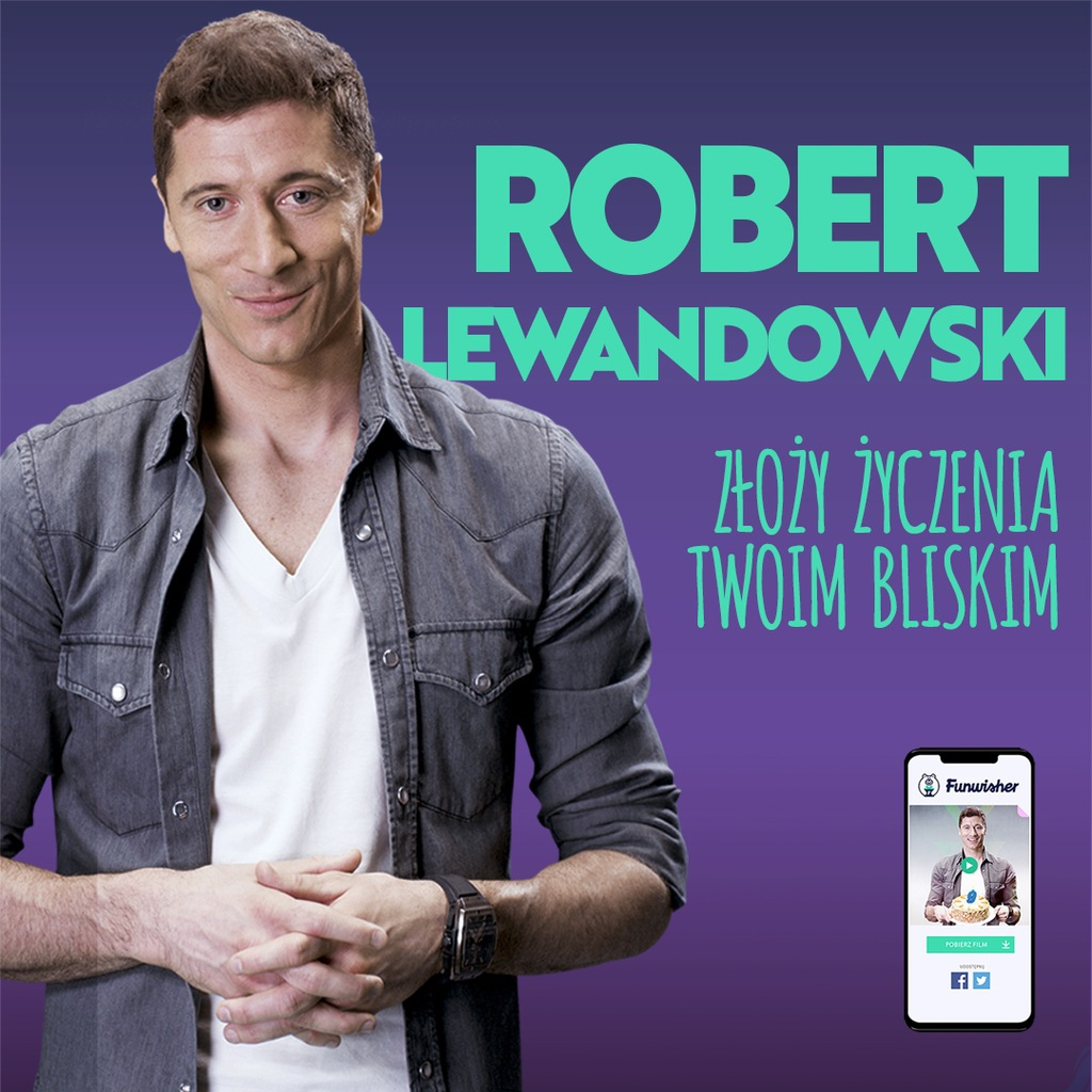 Voucher na życzenia od Roberta Lewandowskiego