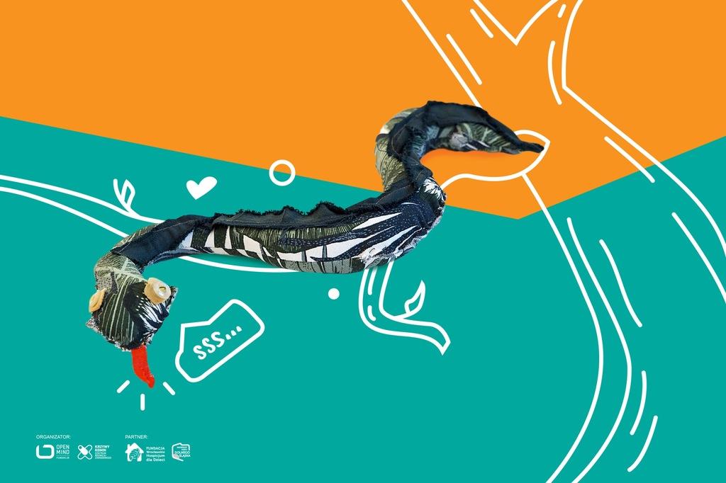 Wąż Zigi - Pluszak prosto z dżungli