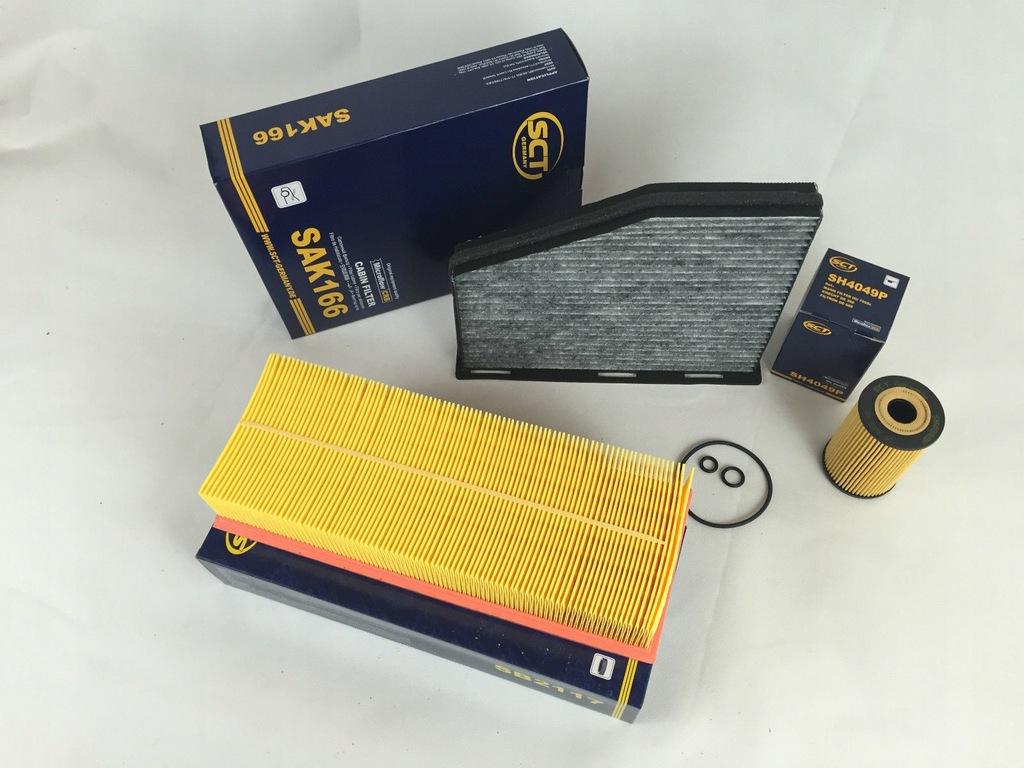 Zestaw filtrów VW Golf 6 Jetta 1.6 TDI 77KW