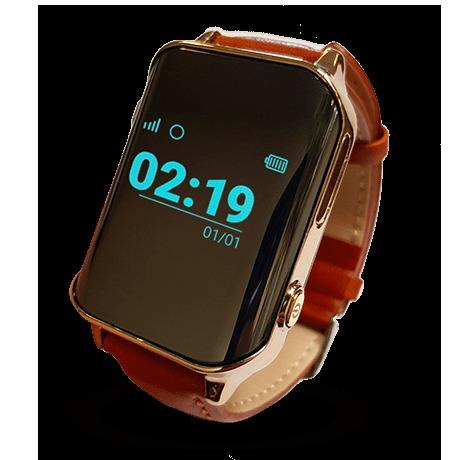 Zegarek GPS dla seniora - telefon, pulsometr, SOS