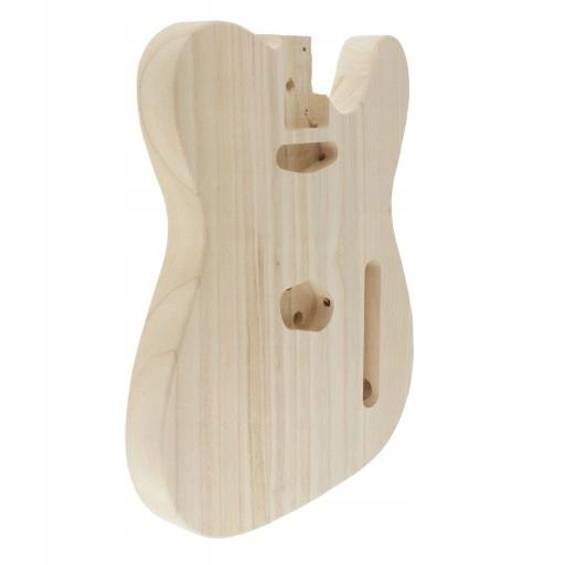 1 kawałek niedokończonego korpusu gitary