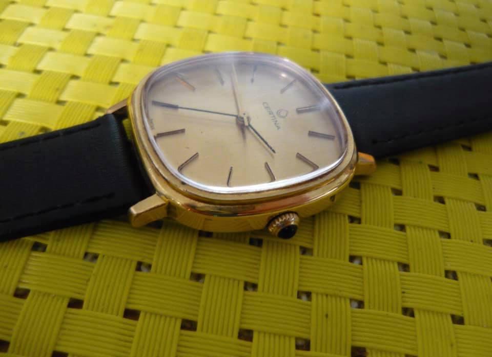 Bardzo ładna CERTINA 17 JEWELS Vintage 60'e